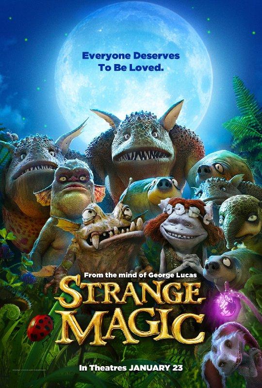 where can i watch strange magic for free